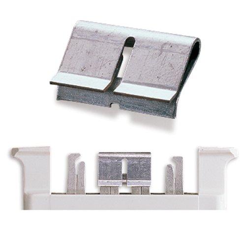Leviton 66 Block (Leviton 40067-BC Bridging Clip 2 Pos, Phosphor Bronze, 50 Clips Per Polybag)
