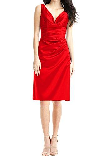 TOSKANA BRAUT - Vestido - Estuche - para mujer Rojo