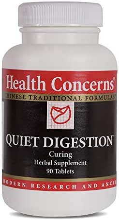 Health Concerns - Quiet Digestion - Curing Herbal Supplement - 90 Tablets