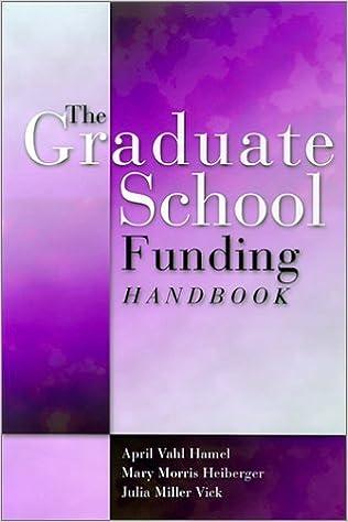 amazon the graduate school funding handbook april vahle hamel