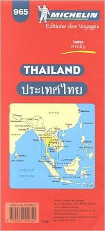 Michelin Thailand Map No 965