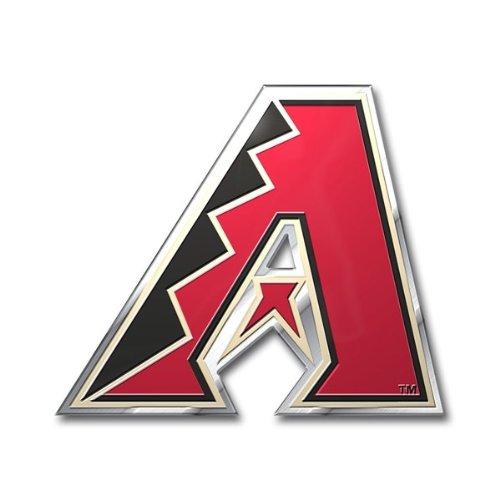 MLB Arizona Diamondbacks Die Cut Color Automobile Emblem