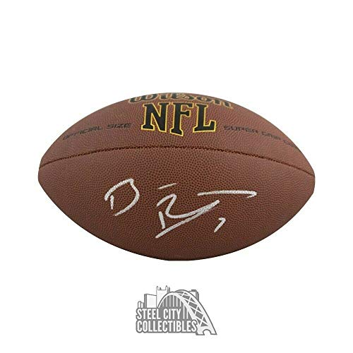 Ben Roethlisberger Autographed Signed Football - Bas Coa - Certified Signature