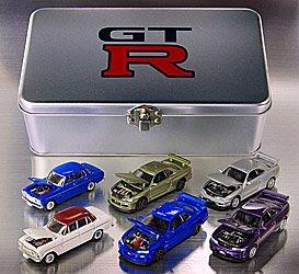 タッカー GT-R THE ENGINE2 コレクション (6台セット:金属製コレクションケース) B001393QO4