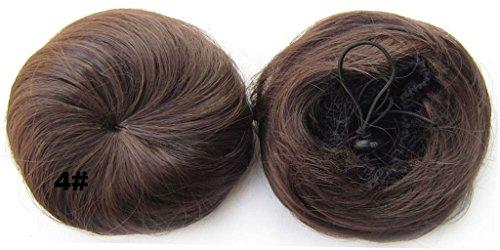 Beauty Wig World Halloween 30gr up Do Unisex Donut Bun Top Knot Scrunchie Hair Piece Cosplay Ponytail -