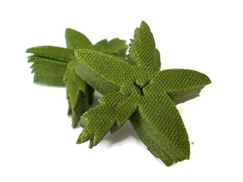 (Sepals Petal Size 1 Inch Fabric Green Torus Sepal Calyx Fruit Stem)