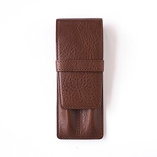 [SLIP-ON] AZ pencase pen sheath double IAZ-4501 Brown