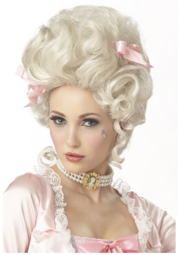 California Costumes Marie Antoinette Wig,Blonde,One Size