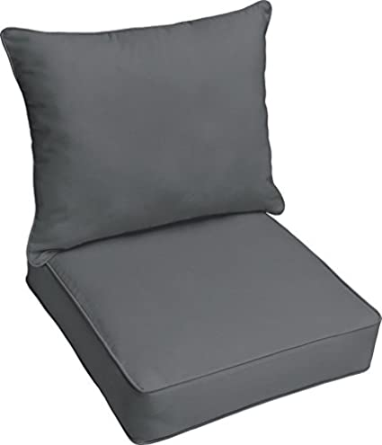 Charmant Brayden Studio Reversible Polyester Garden Patio Lounge Chair Foam Pillow  Cushion For Indoor/Outdoor Use
