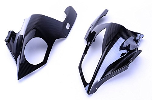Bestem CBBM-S1K-HCW-T Carbon Fiber Head Cowl/ Turn Signal Covers in Twill Weave for BMW S1000RR 2009 - ()