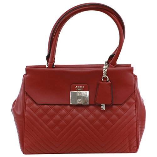 (GUESS Rebel Roma Color-Blocked Satchel)