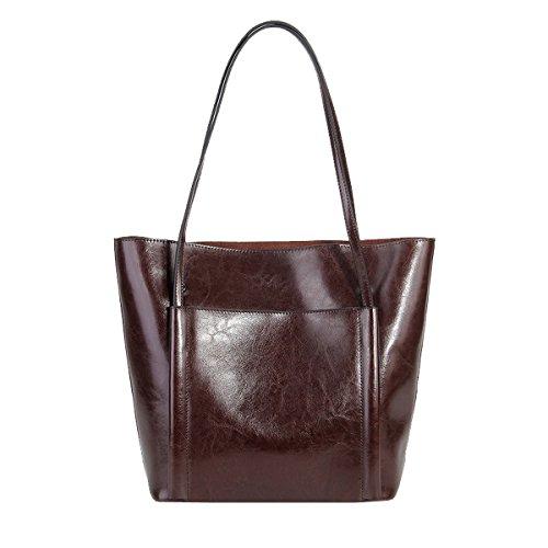 à épaule LF main Sac Valin cuir 8955 portés femme portés Café fashion Sac en Sac main qtdPwR
