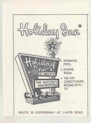 1962 holiday inn mansfield ohio ad route 30. Black Bedroom Furniture Sets. Home Design Ideas