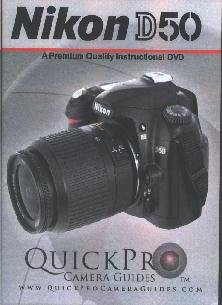 Nikon D50 - A Premium Quality Instructional DVD by QuickPro Camera ()