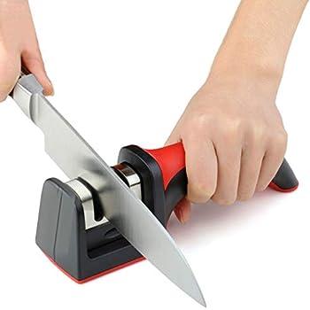 Amazon.com: marca afilador de cuchillo profesional ventosa ...