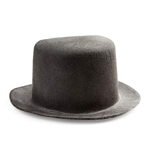 Darice 12762sombrero de copa fieltro 20.3cm, Negro