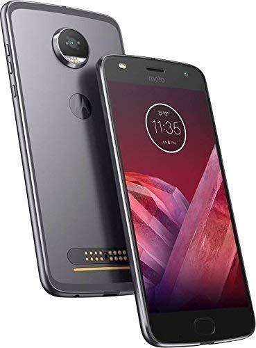 Motorola Moto Z2 Play XT1710-06 (64GB) Dual SIM GSM Factory Unlocked (Dark  Gray) American & Euro 4G LTE Bands (Renewed)