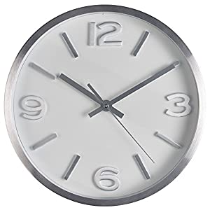 Amazon Com Bernhard Products Wall Clock 10 Inch Modern