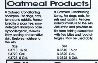 Kenic Oatmeal Pet Conditioner Spray, 17-Ounce by Kenic