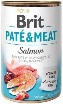 Brit Paté & Meat Salmon 12 x 800grs: Amazon.es: Productos ...