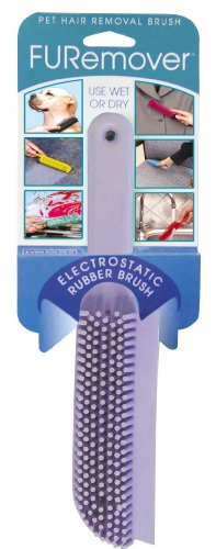 Evriholder FURemover Pet Hair Removal Brush, color may vary (Brush Lint Rubber)