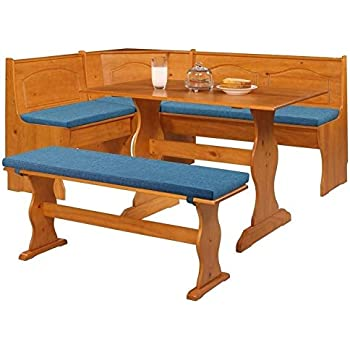 PVC Cushion Set Breakfast Kitchen Nook Solid Wood Seat Dining Corner Bench Pad
