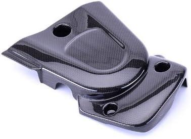 Black Carbon Fiber Sprocket Belt Pulley Cover for Buell XB9 XB12 2003-2005 CBBU-XB9-BLC Bestem