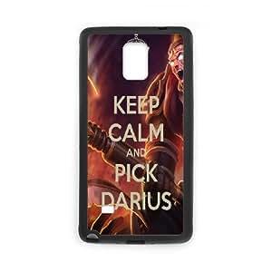 Game league of legend Phone Case Darius For Samsung Galaxy Note 4 N9100 Q5A2112605