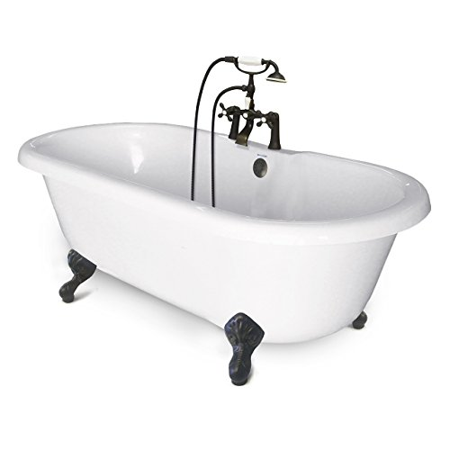 American Bath Factory CC-DC-C-OB Chelsea Collection Double Ended Tub