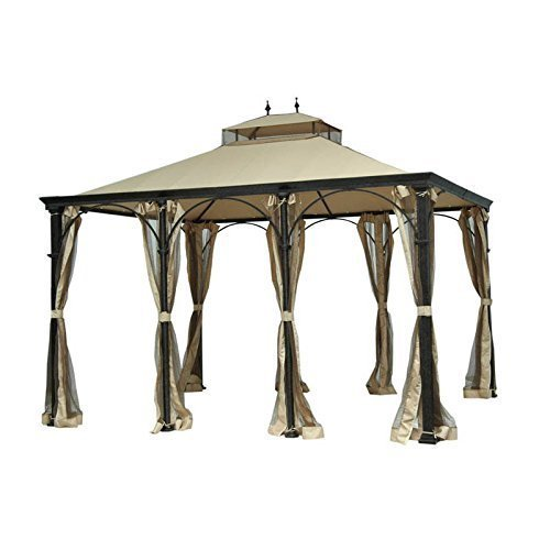 Garden Winds Replacement Canopy for Higgins Gazebo, RipLock 350 Review