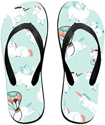 ビーチシューズ ユニコーン 動物柄 ビーチサンダル 島ぞうり 夏 サンダル ベランダ 痛くない 滑り止め カジュアル シンプル おしゃれ 柔らかい 軽量 人気 室内履き アウトドア 海 プール リゾート ユニセックス