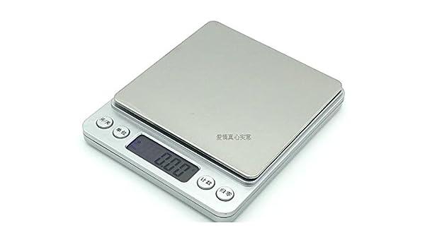 Las joyas de la escala escala de bolsillo de 001 g g escala mini balanza balanza electrónica dijo que la plataforma electrónica de escalas de medición: ...