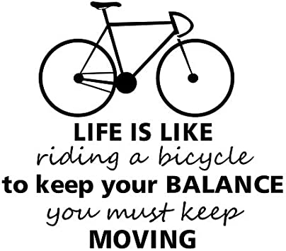 Weaeo Inspirando Letras La Vida Es Como Andar En Bicicleta ...