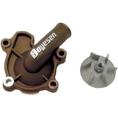 Boyesen Supercooler Water Pump Cover and Impeller Kit Magnesium for Honda CRF250R 2004-2009