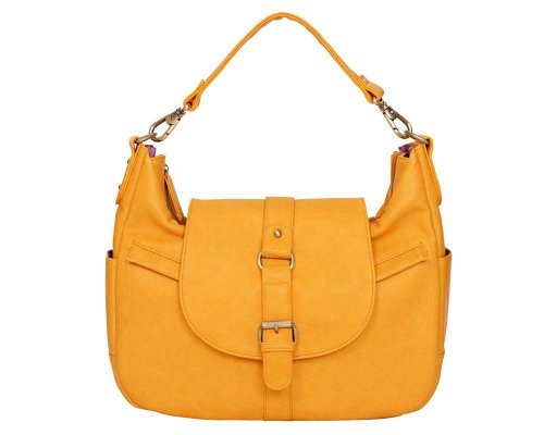 Kelly Moore B-Hobo-I Shoulder Style Small Camera Bag - Mustard by Kelly Moore