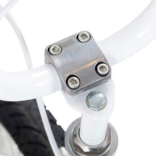 FDInspiration Pink 45'' x 31.5'' Metal Frame Kids Bike w/Training Wheels with Ebook by FDInspiration (Image #8)
