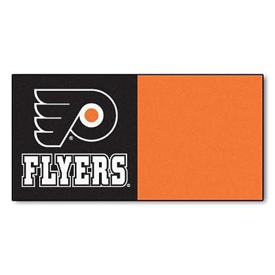FANMATS NHL Philadelphia Flyers Nylon Face Team Carpet Tiles