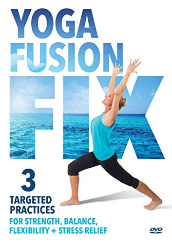 Yoga Fusion Fix: 3 Time Saving, Targeted Practices For Strength, Balance, Flexibility + Stress Relief [DVD] ()