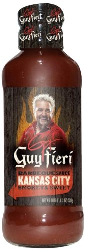 Guy Fieri BBQ Sauce, Kansas City, 19 Ounce (Pack of - Guy Sauce