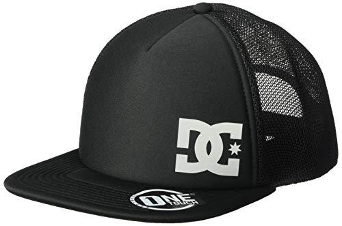 DC Men's GREETERS Snapback Trucker HAT, Black, 1SZ from DC