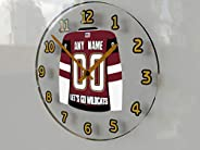 NHL National Hockey League - Western Conference - Pacific Division Jersey Wall Clocks - Free Customization - T