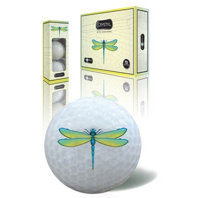 Crystal Specialty Golf Balls – DRAGONFLY, Outdoor Stuffs