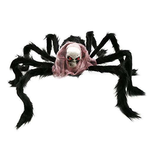 Party Diy Decorations - Halloween Party Events 1pc Creepy Large Spider Hanging Props Toys Horror Skull Bar Club Decoration - Decorations Party Party Decorations Decor Skull Horror Prop -