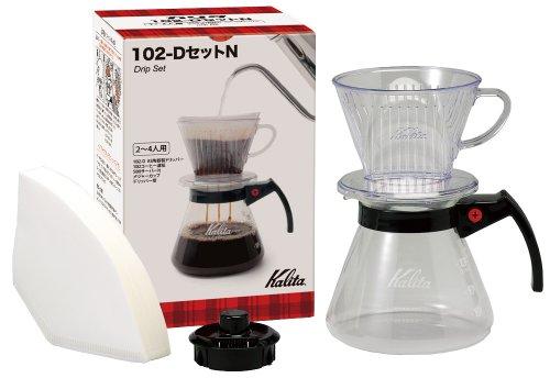 Kalita drip set 102-D set N # 35167 by Kalita (Carita)