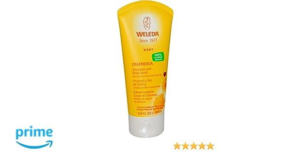 Weleda - Champú y gel de ducha de caléndula 200 ml de: Amazon.es: Belleza