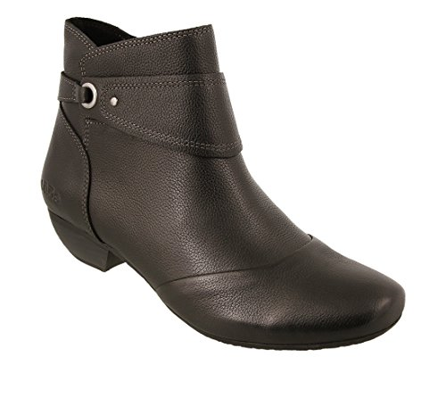 Taos Footwear Women's Image Leather Boot Black Leather