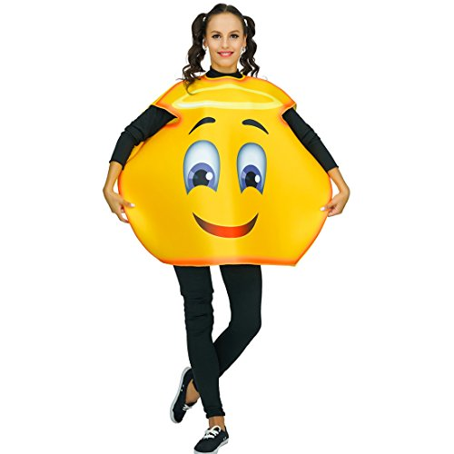 Adult Unisex Emoji Costume Angel 1 Size