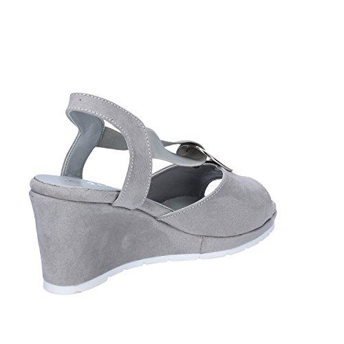 Cinzia Soft - Sandalias de vestir de Piel sintética para mujer gris