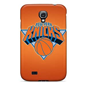 Shockproof Hard Phone Case For Samsung Galaxy S4 (DnG15500QnmW) Unique Design High Resolution New York Knicks Image
