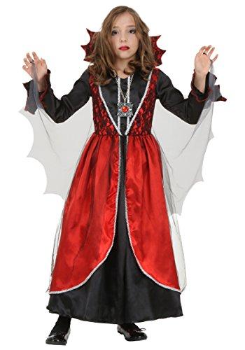 Criminal For Girls Costume (Girls Vampire Costume X-Large)